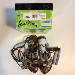 NIB Sam Edelman Gretchen gladiator sandals